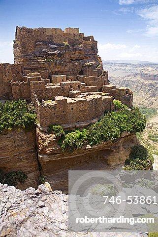 Landscape, Zakati, Yemen, Middle East