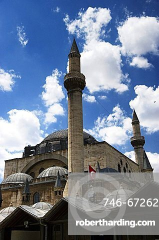 Mevlana Mausoleum, Konya, Turkey, Europe