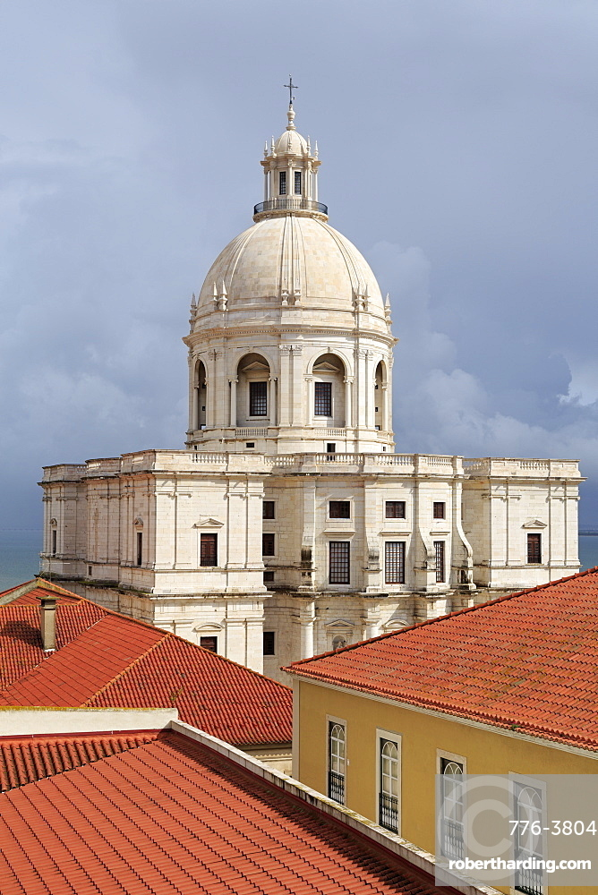 National Pantheon (Santa Engracia Church) in the Alfama District, Lisbon, Portugal, Europe