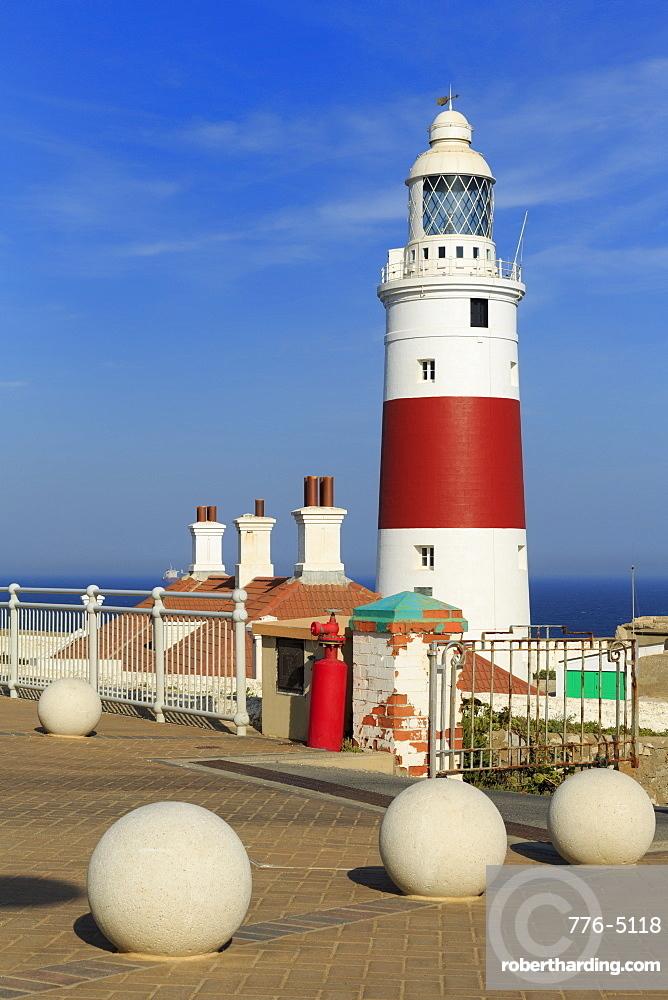 Europa Point Lighthouse, Gibraltar, United Kingdom, Europe