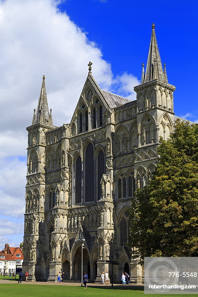 Salisbury Cathedral, Wiltshire, England, United Kingdom, Europe