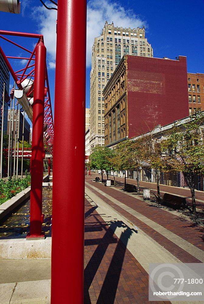 Washington Boulevard, Detroit, Michigan, United States of America, North America