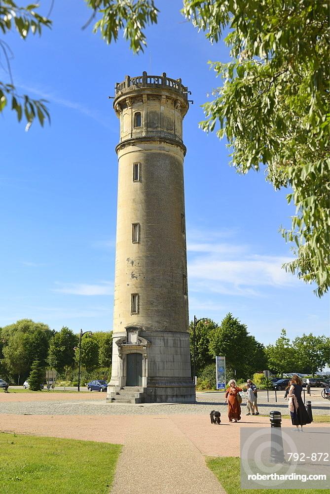 Vieux Phare de Honfleur, Lighthouse, Boulevard Charles V, Honfleur, Calvados, Basse Normandie, Normandy, France, Europe