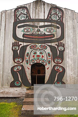 Chief Shakes Tribal House, historic site, Wrangell, Southeast Alaska, United States of America, North America