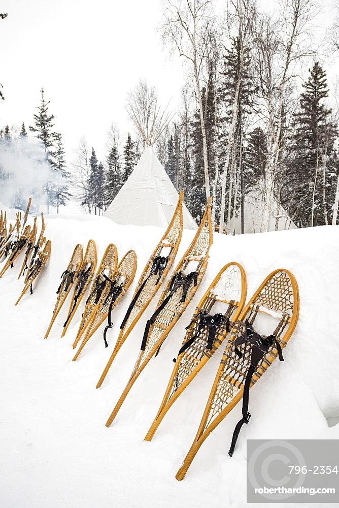 Snowshoes, Yellowknife, Northwest Territories, Canada, North America