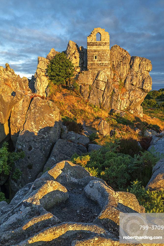 St. Michael's Chapel on Roche Rock, Cornwall, England, United Kingdom, Europe