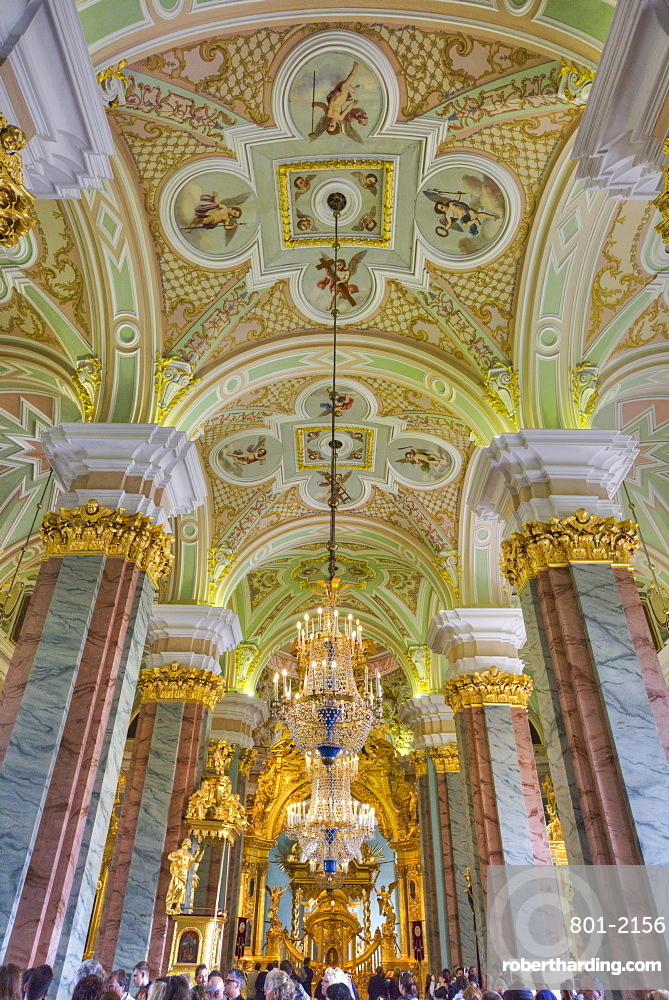SS Peter and Paul Cathedral, St. Petersburg, UNESCO World Heritage Site, Russia, Europe