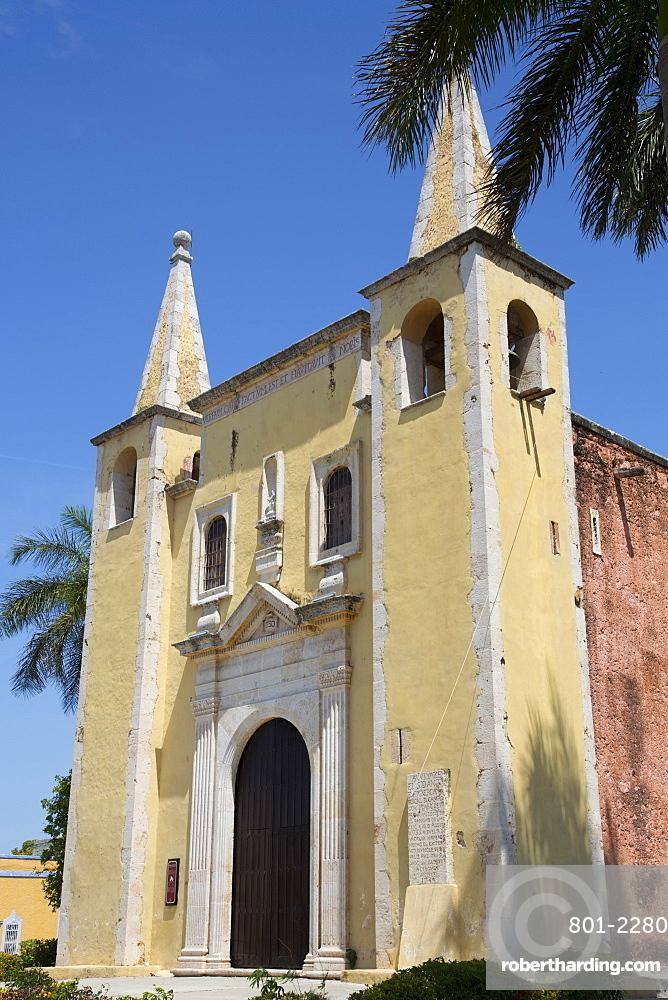 Church of Santa Ana, founded 1500s, Merida, Yucatan, Mexico, North America