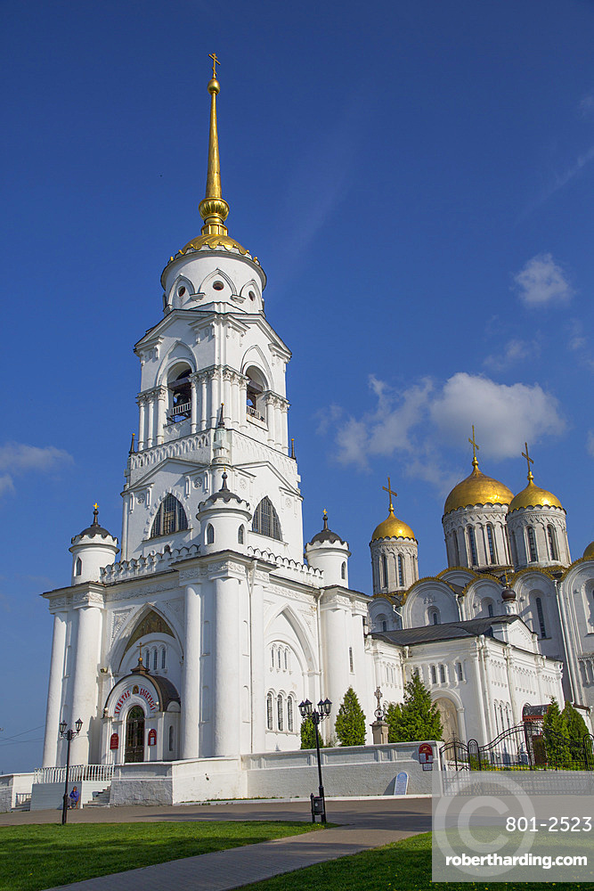 Bell Tower, Assumption Cathedral, UNESCO World Heritage Site, Vladimir, Russia, Europe