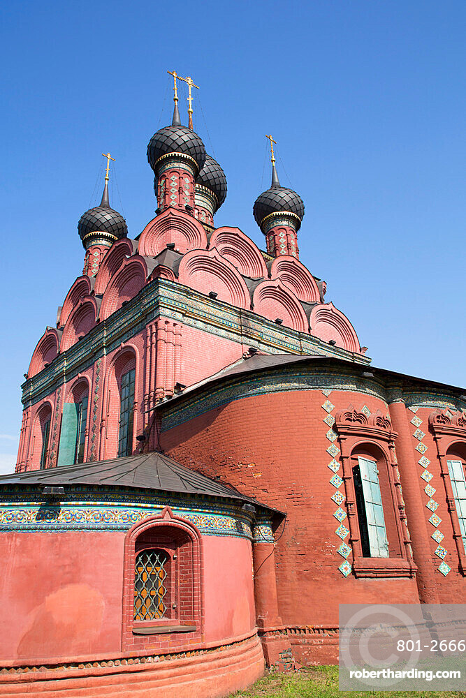 Church of Epiphany, UNESCO World Heritage Site, Yaroslavl, Yaroslavl Oblast, Russia