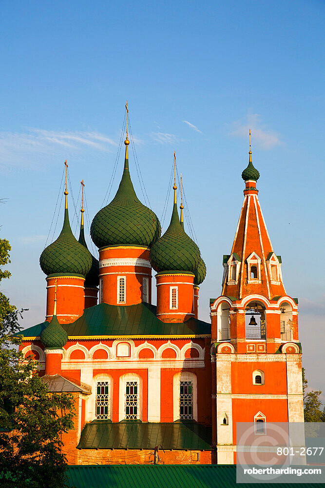 St Michael the Archangel Church, UNESCO Site, Yaroslavl, Golden Ring, Yaroslavl Oblast, Russia