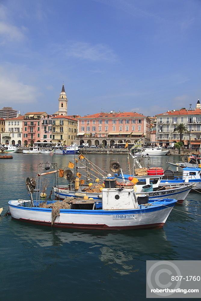Harbor oneglia imperia liguria italian stock photo for Oneglia imperia