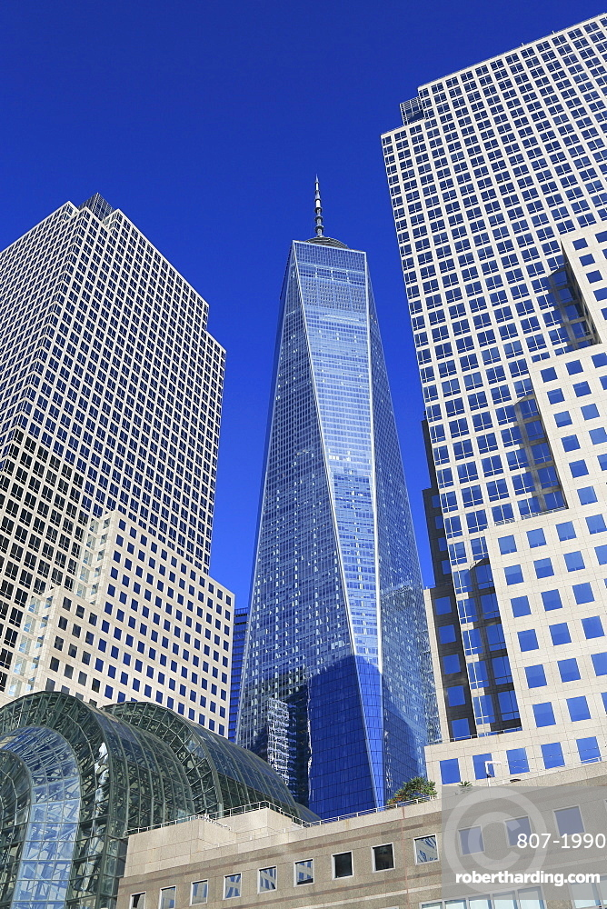 One World Trade Center, Brookfield Place, Financial District, Manhattan, New York City, United States of America, North America