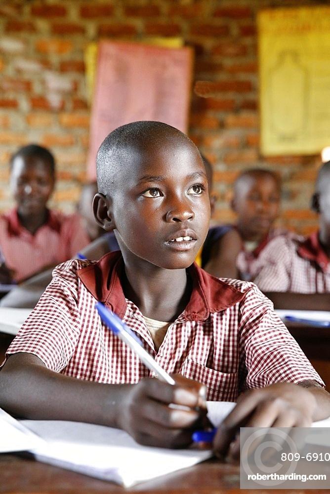 Ugandan school, Uganda, Africa