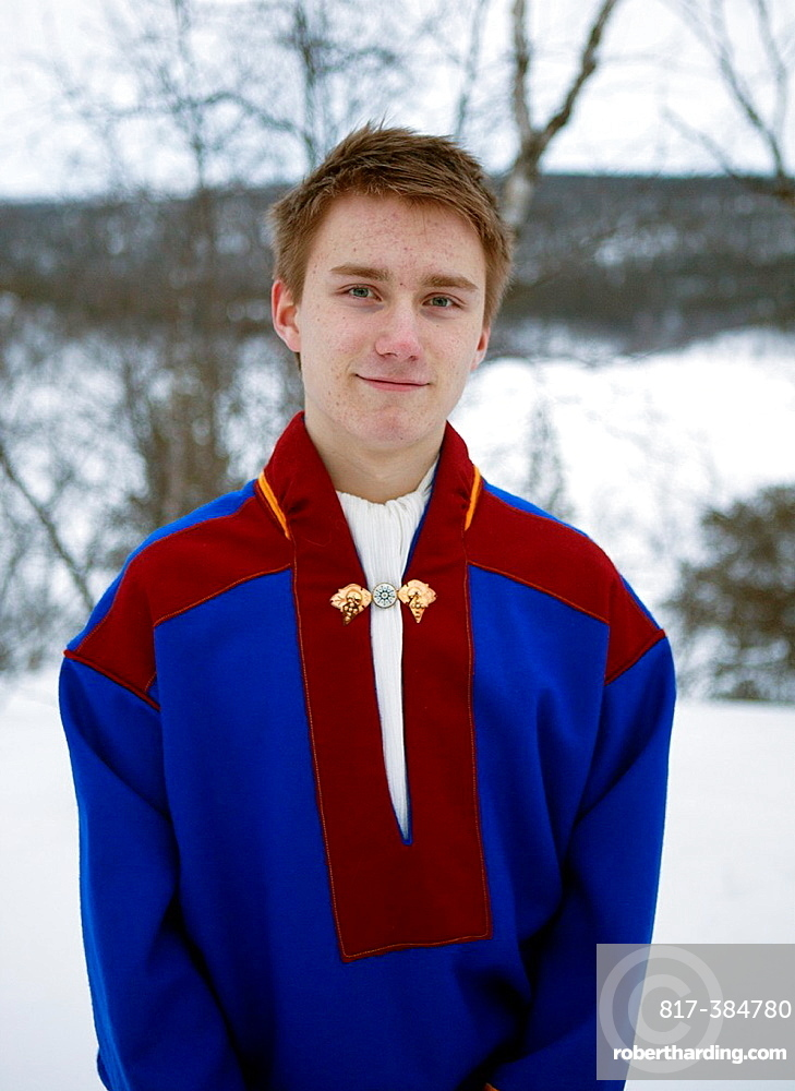 Sami People In The North Stock Photo