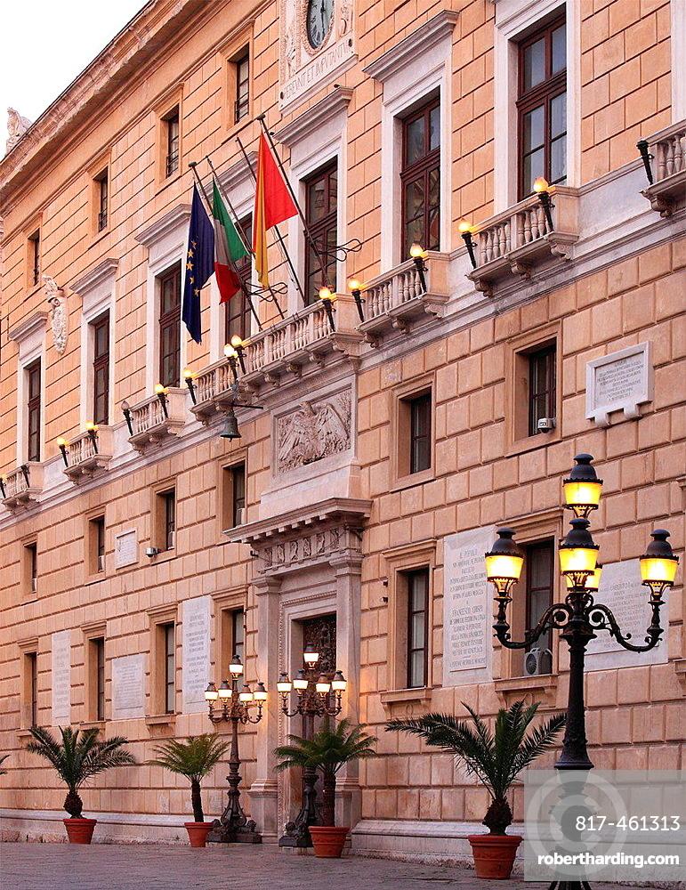 Italy, Sicily, Palermo, Piazza Pretoria, | Stock Photo