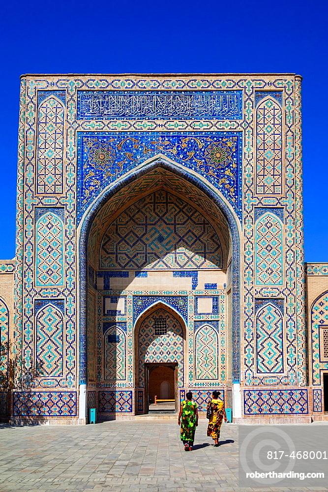 Ulugh Beg Madrasah at the Memorial Complex of Al Gijduvani, Gijduvan, near Bukhara, Uzbekistan.