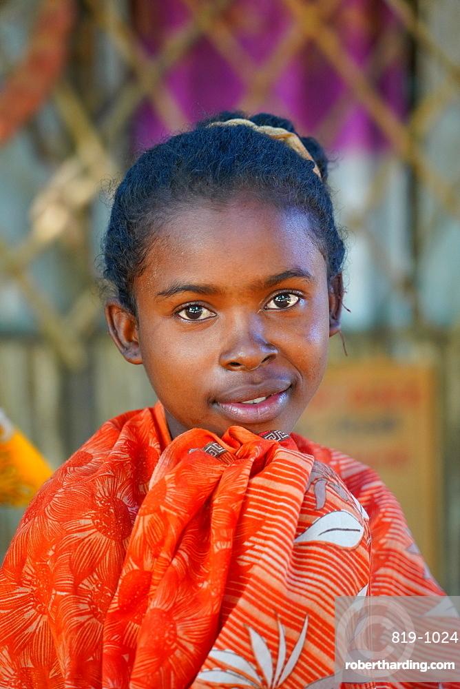 Children at Bekopaka village, Tsingy de Bemaraha National Park, Melaky Region, Western Madagascar