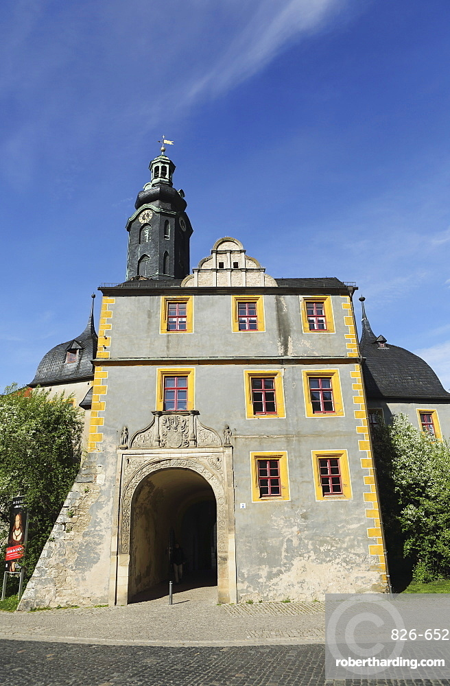 The Stadtschloss (City Palace), former Saxe-Weimar-and Eisenach ducal residence, UNESCO World Heritage Site, Weimar, Thuringia, Germany, Europe