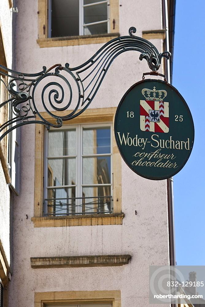 Pastry shop, old town, Neuchatel, Canton Neuchatel, Switzerland, Europe