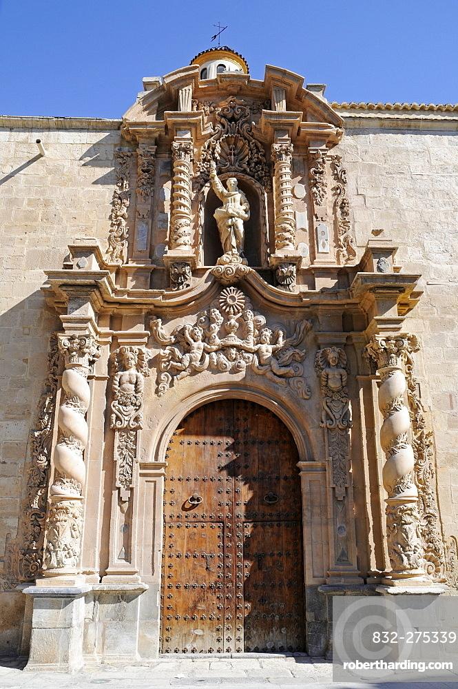 Santiago Apostol Church, Orihuela, Alicante, Spain