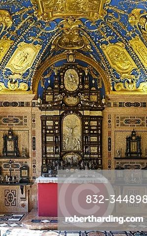 Reiche Kapelle (Ornate Chapel), Residence Museum, Munich, Bavaria, Germany