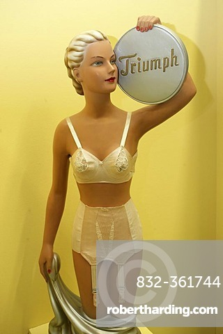 97fd315047 Old promotion statue of the underwear firm triumph