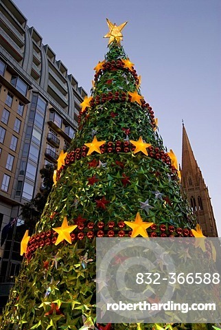 christmas tree christmas decorations melbourne victoria australia