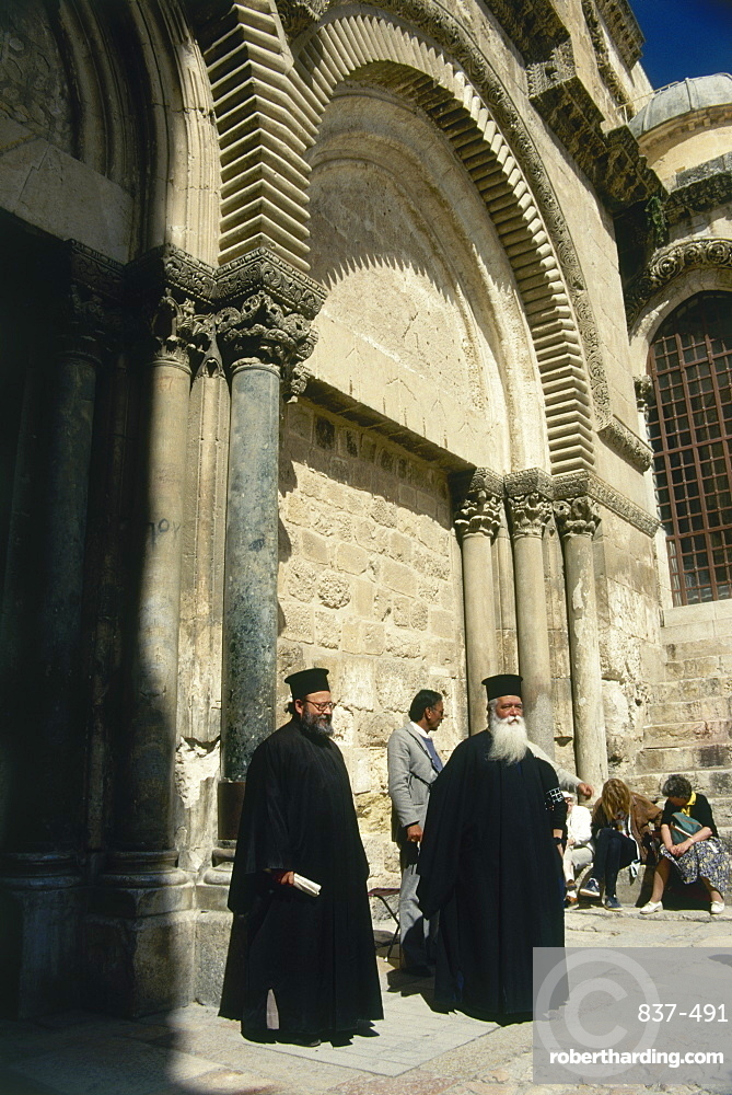 Church of the Holy Sepulcher in the old city of Jerusalem, Israel