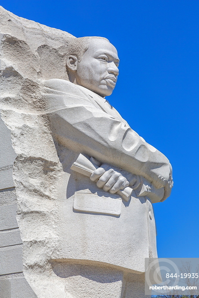 View of the Martin Luther King, Jr. Memorial, Washington D.C., United States of America, North America