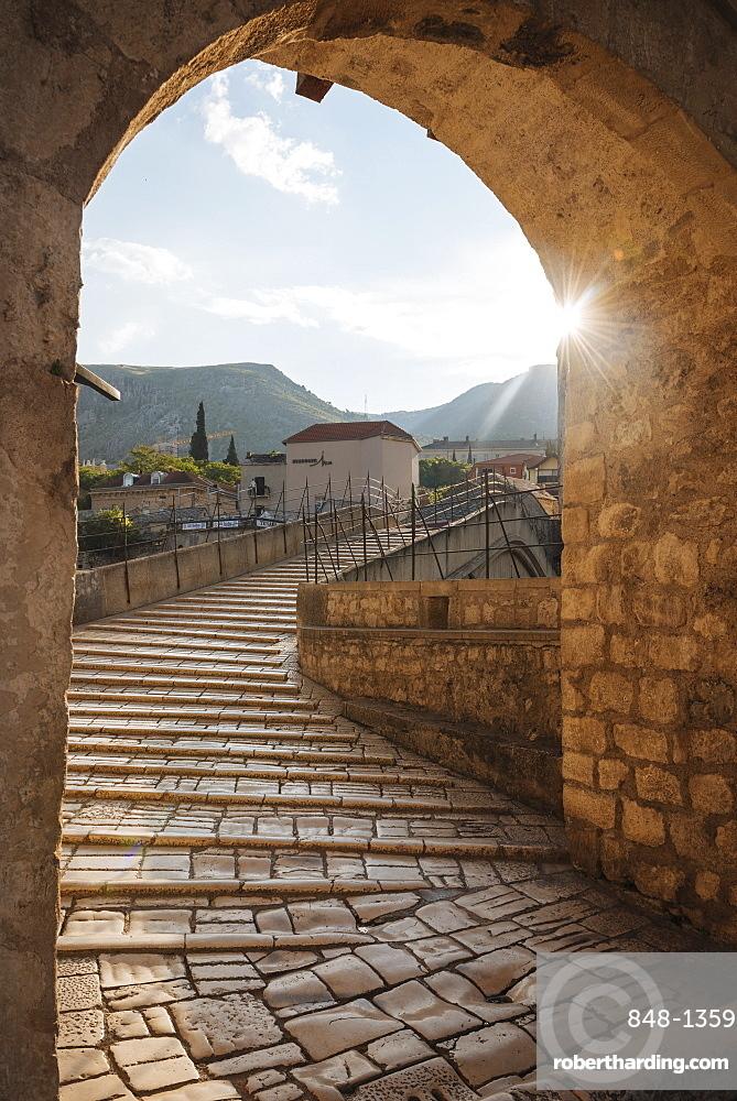 Stari Most Bridge, Mostar, Bosnia and Hercegovina, Europe