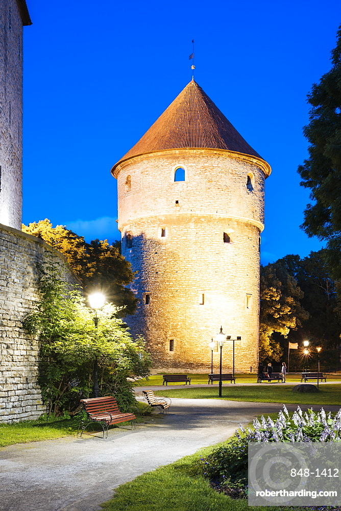 Old Town, UNESCO World Heritage Site, Tallinn, Estonia, Europe