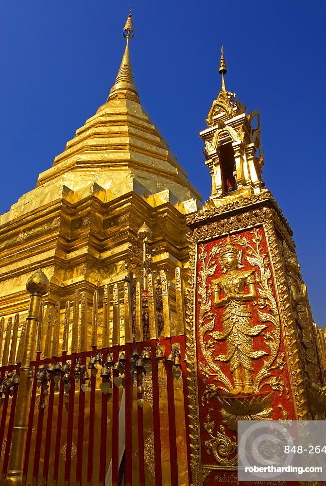 Doi Suthep Temple, Chiang Mai, Chiang Mai Province, Thailand, Southeast Asia, Asia