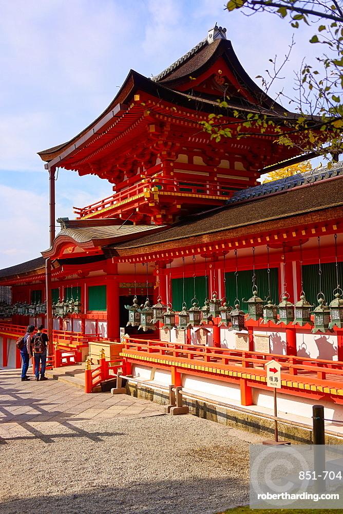 Kasuga Taisha shrine, UNESCO World Heritage Site, Nara, Honshu, Japan, Asia