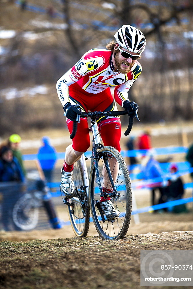 Joe Malone of Team Wisconsin at Cyclocross Nationals