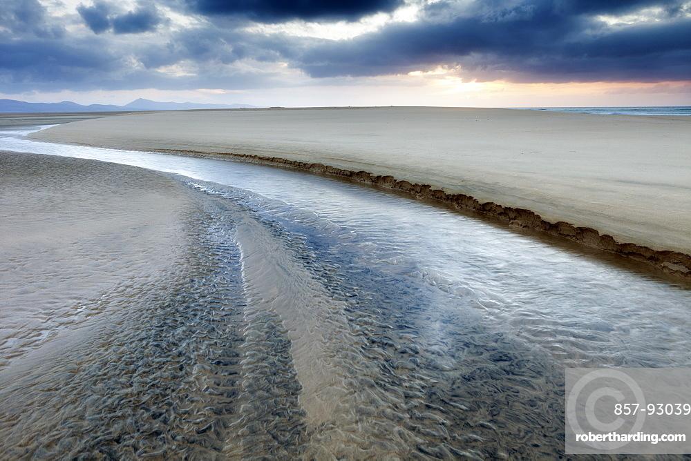 Sotovento Beach, Jandia Peninsula, Fuerteventura, Canary Islands, Spain, Atlantic