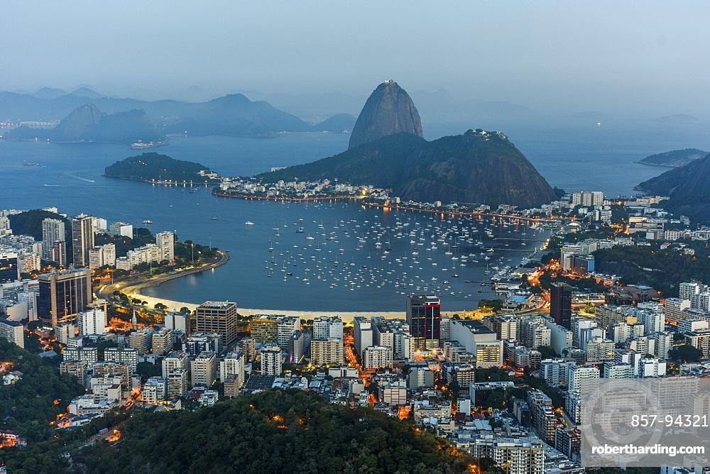 View from Mirante Dona Marta to the Sugar Loaf Mountain, Rio de Janeiro, RJ
