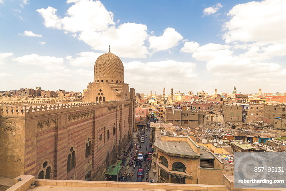 High angle view of Cairo during daytime, Egypt