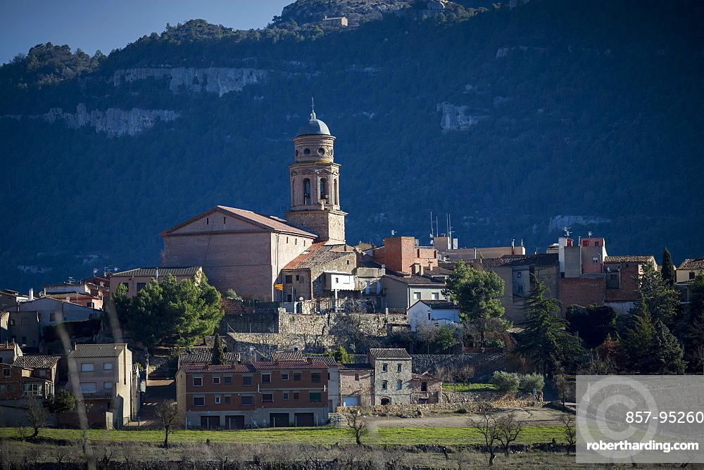 View of Siurana village, Catalonia, Spain