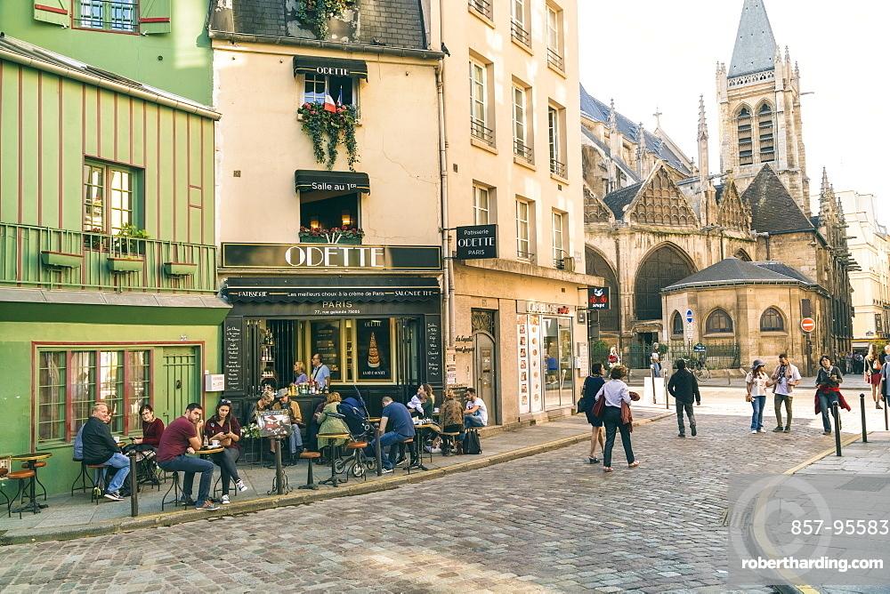 Quartier de la Sorbonne is 20th administrative district or quartier of Paris, France. It is located in 5th arrondissement of Paris, near jardin du Luxembourg and Sorbonne, on Montagne Sainte-Genevieve, Paris, Ile-de-France, France