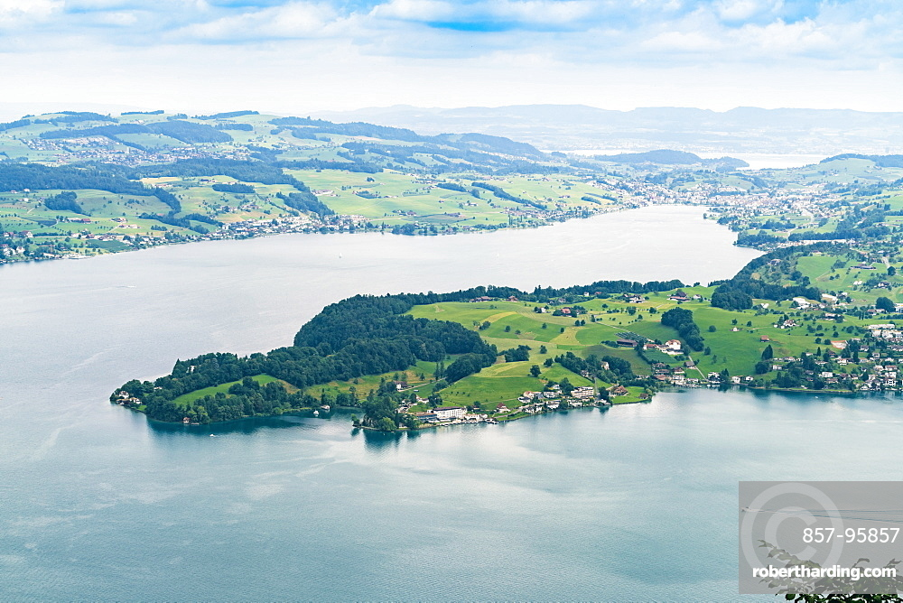 View of Lucerne Lake from Burgenstock