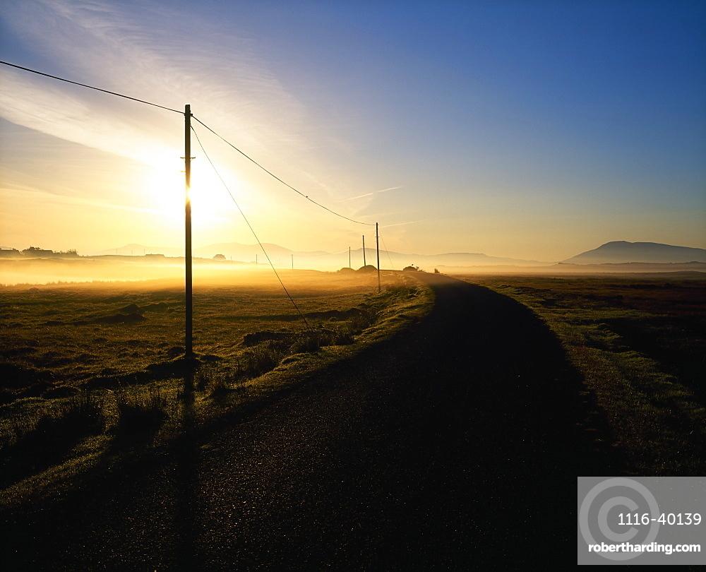 Country Road, Achill Island, Co Mayo, Ireland