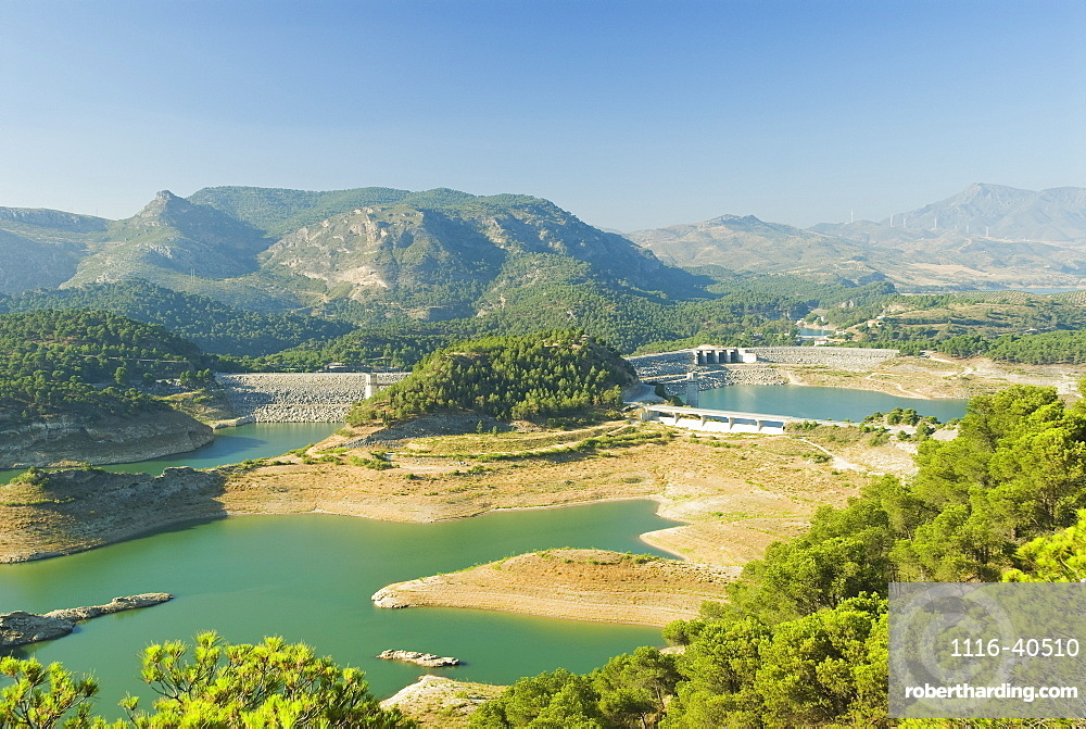 Reservoir, Andalusia, Spain