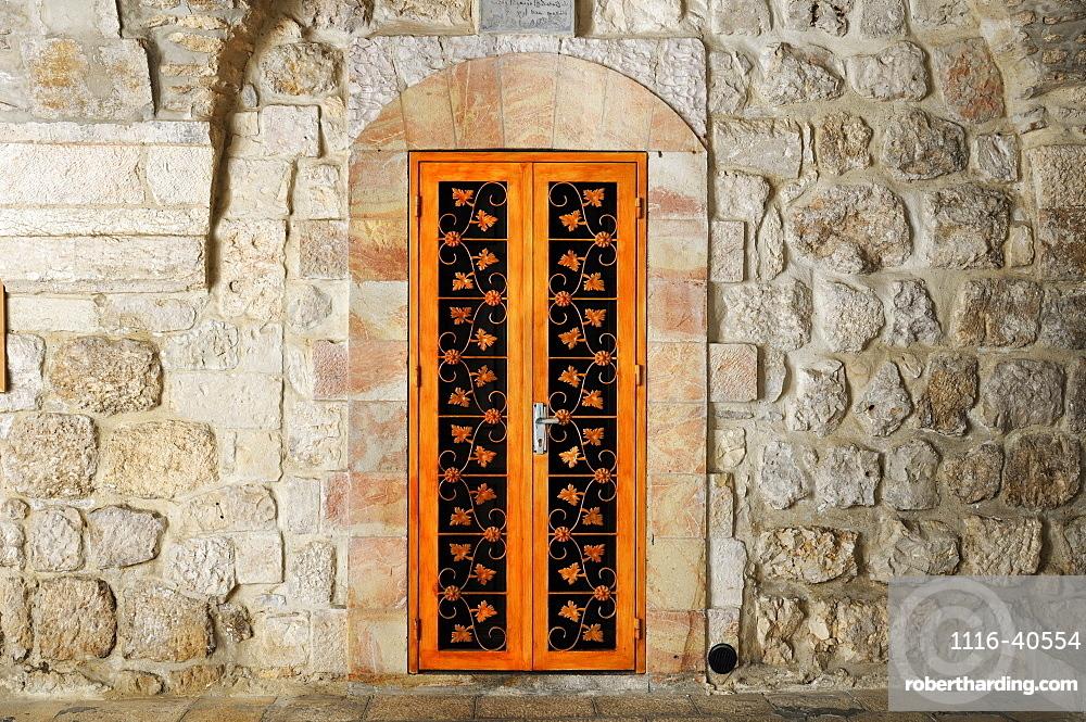 Door, St. Mark's Church, Jerusalem
