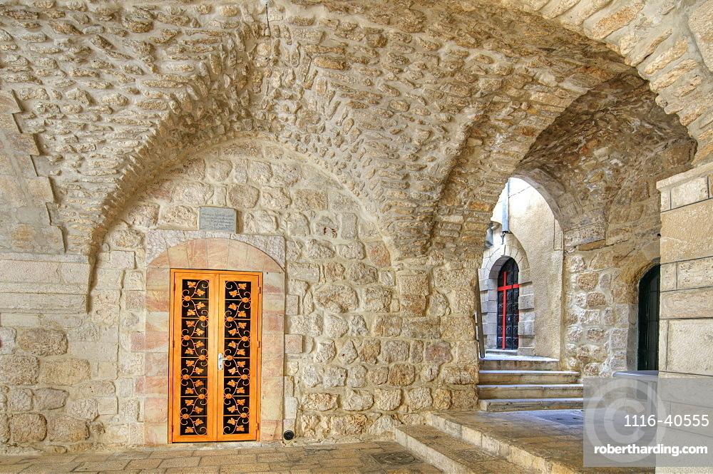 Doorway, St. Mark's Church, Jerusalem