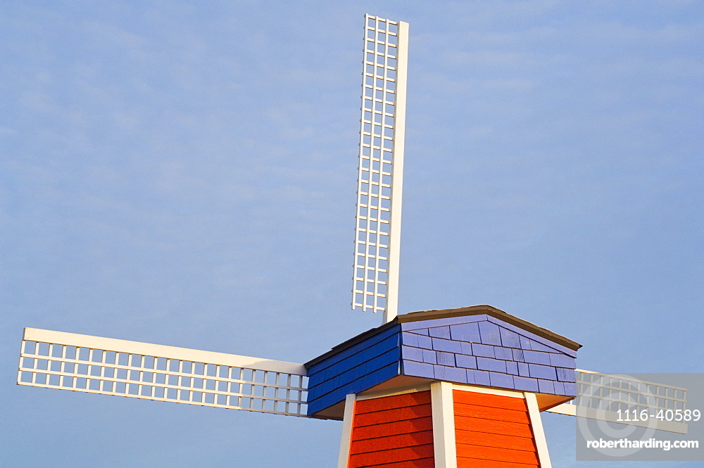 Windmill, Wooden Shoe Tulip Farm, Oregon, Usa