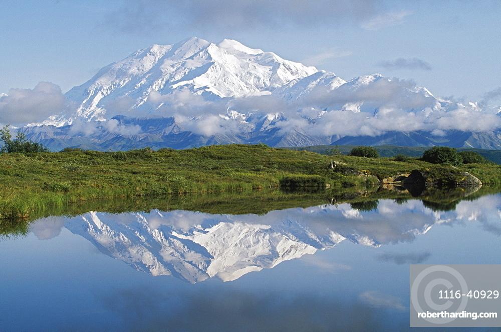 Mount Mckinley, Denali National Park, Alaska, United States Of America