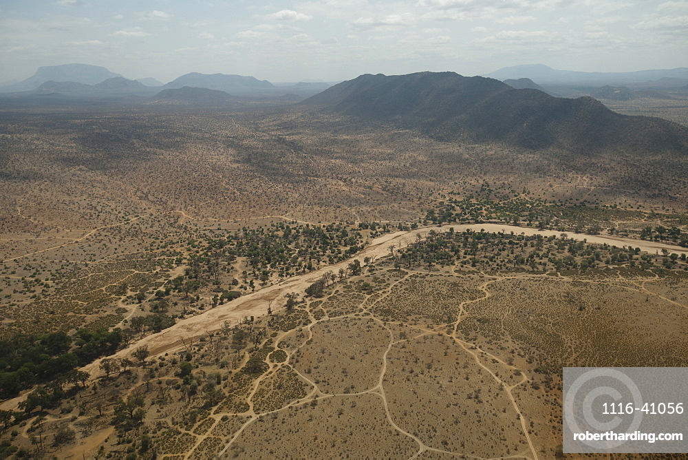 Aerial View, Kenya, Africa