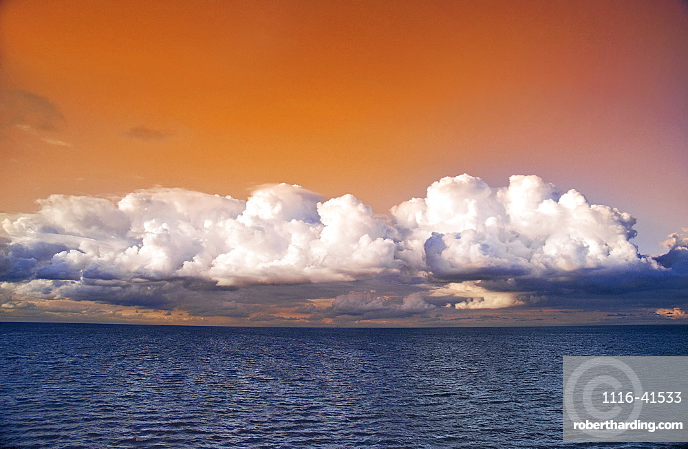 Storm Clouds Over Lake Ontario. Ontario, Canada.