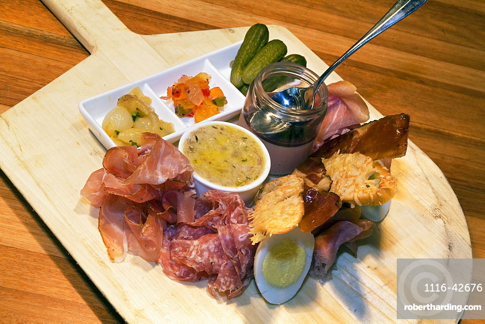 A Platter Of Appetizers, Washington, Dc, United States Of America